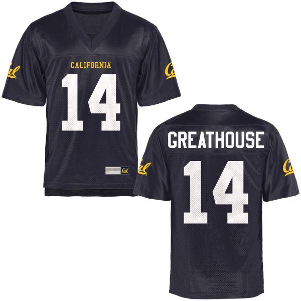 Women's A.J. Greathouse Cal Bears Limited Navy Blue Football Jersey