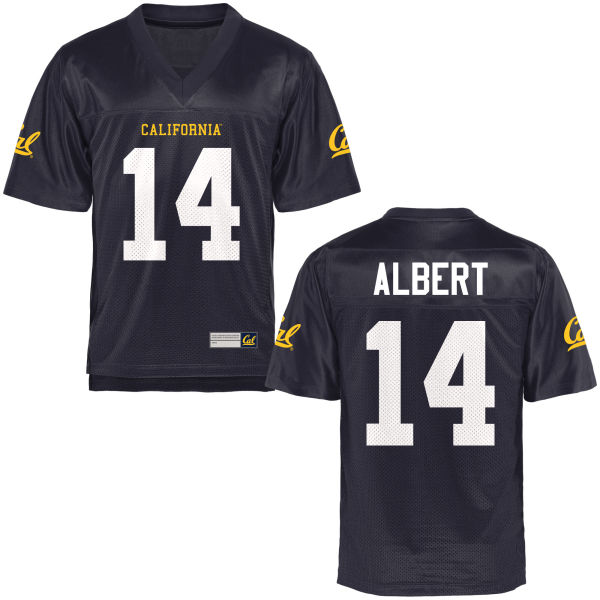 Youth Antoine Albert Cal Bears Game Navy Blue Football Jersey