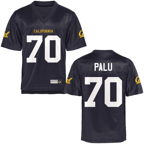 Men's Benji Palu Cal Bears Authentic Navy Blue Football Jersey