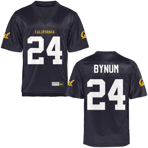Women's Camryn Bynum Cal Bears Replica Navy Blue Football Jersey