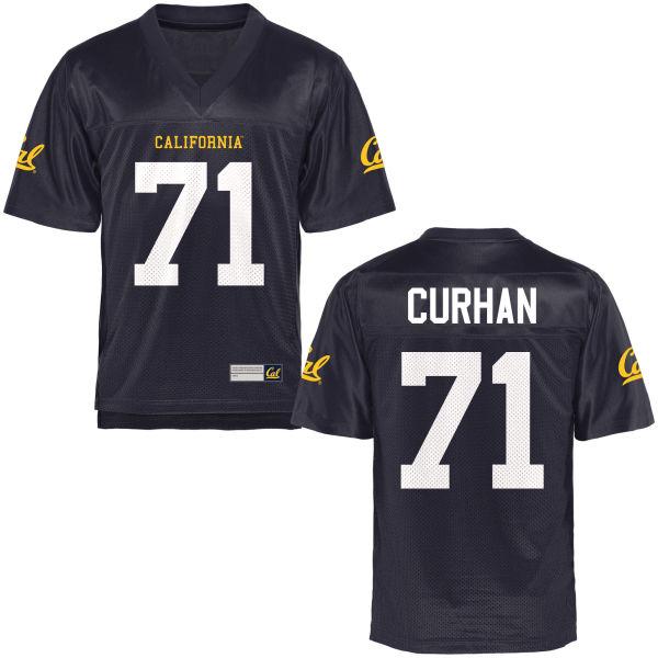 Men's Jake Curhan Cal Bears Replica Navy Blue Football Jersey