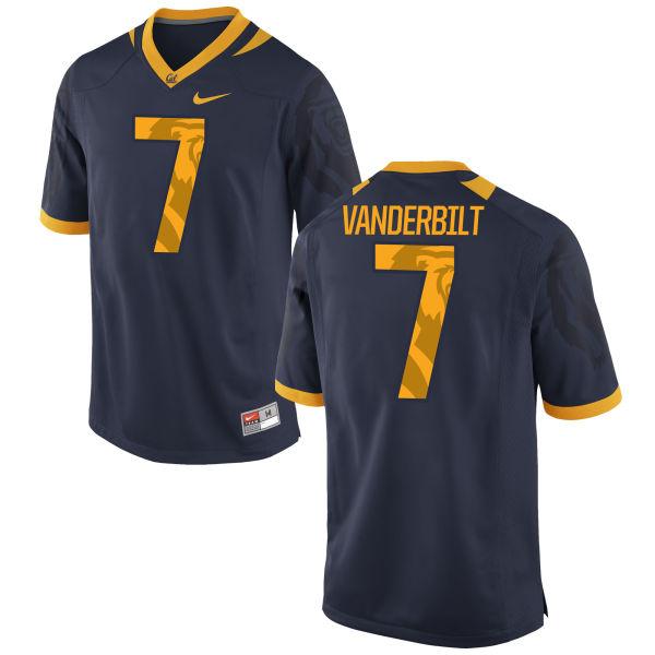 Men's Nike Khari Vanderbilt Cal Bears Limited Navy Football Jersey