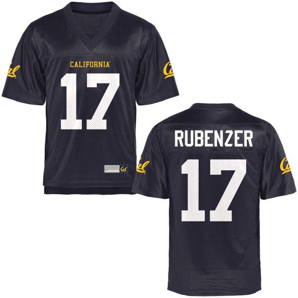 Men's Luke Rubenzer Cal Bears Authentic Navy Blue Football Jersey