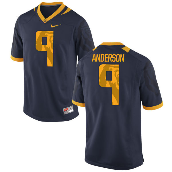 Men's Nike Matt Anderson Cal Bears Limited Navy Football Jersey