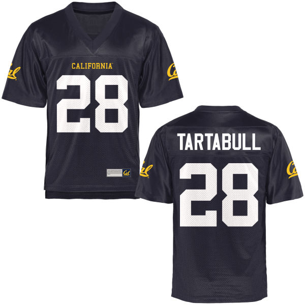Men's Quentin Tartabull Cal Bears Replica Navy Blue Football Jersey