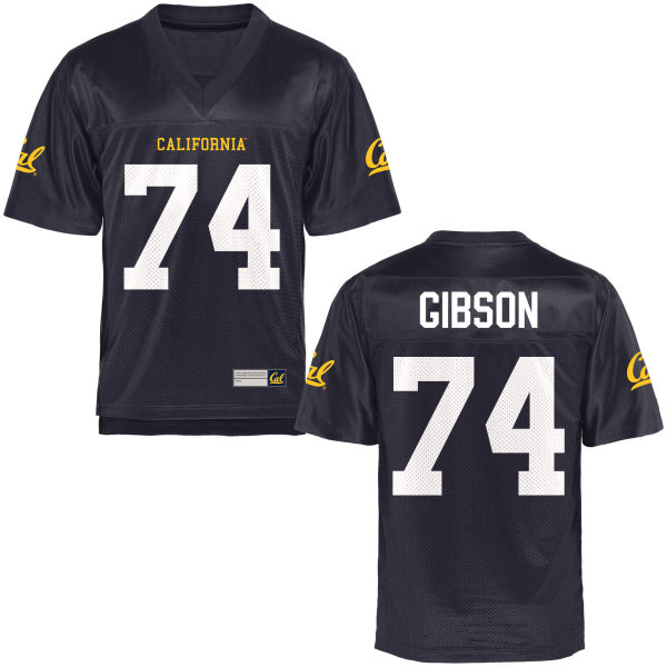 Youth Ryan Gibson Cal Bears Replica Navy Blue Football Jersey