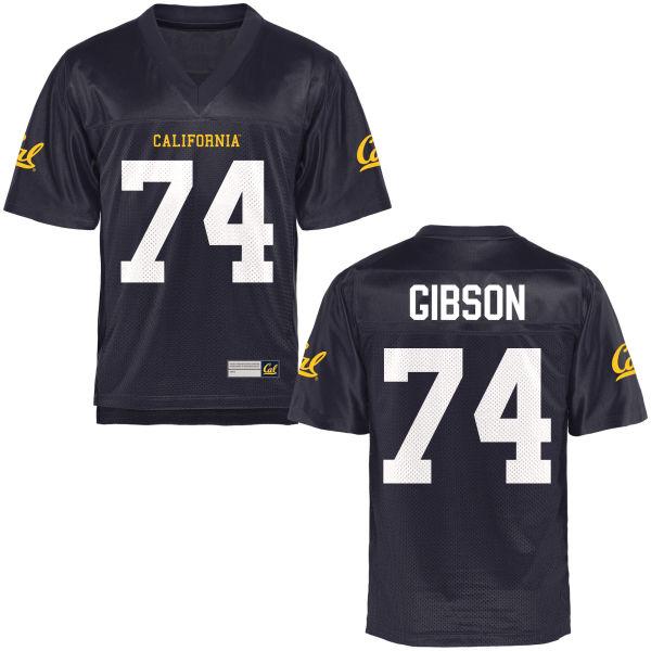 Women's Ryan Gibson Cal Bears Limited Navy Blue Football Jersey