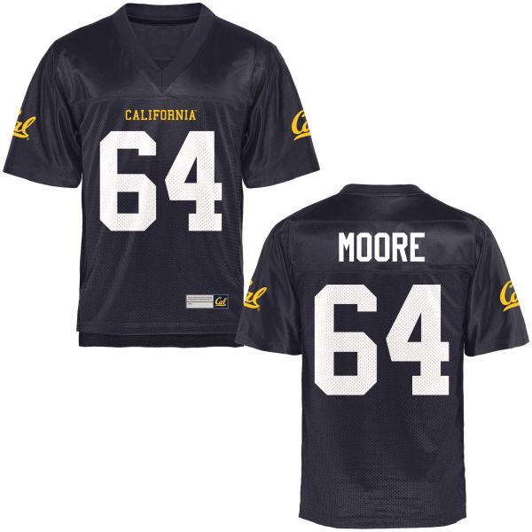 Women's Steven Moore Cal Bears Authentic Navy Blue Football Jersey