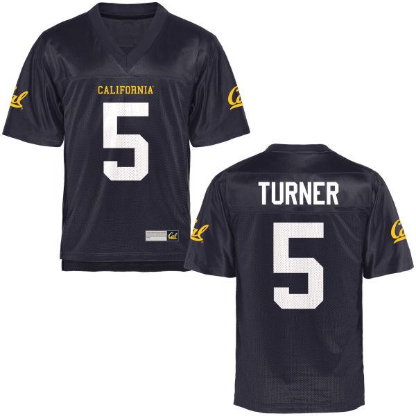 Men's Trey Turner Cal Bears Authentic Navy Blue Football Jersey