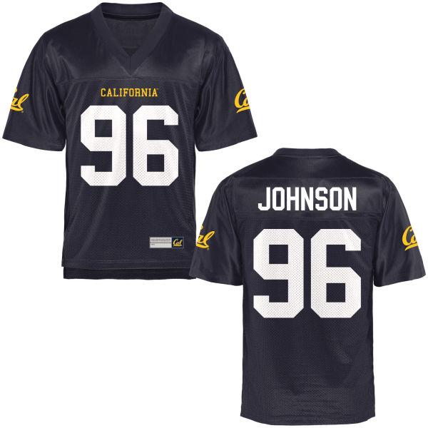 Men's Vincent Johnson Cal Bears Limited Navy Blue Football Jersey