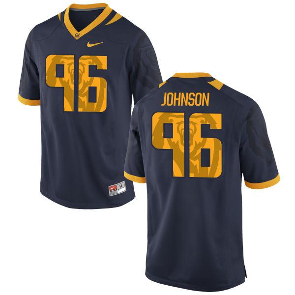 Men's Nike Vincent Johnson Cal Bears Limited Navy Football Jersey