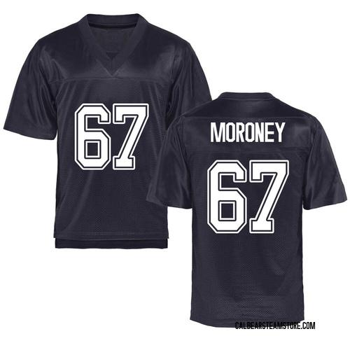 Men's Colin Moroney California Golden Bears Replica Gold Navy Football College Jersey