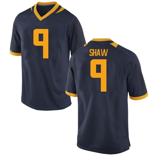 Men's Nike Bradrick Shaw California Golden Bears Game Gold Navy Football College Jersey