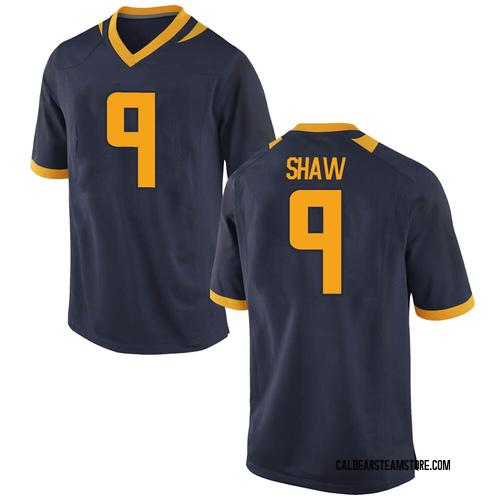 Men's Nike Bradrick Shaw California Golden Bears Replica Gold Navy Football College Jersey
