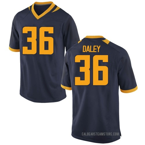 Men's Nike Grant Daley California Golden Bears Game Gold Navy Football College Jersey