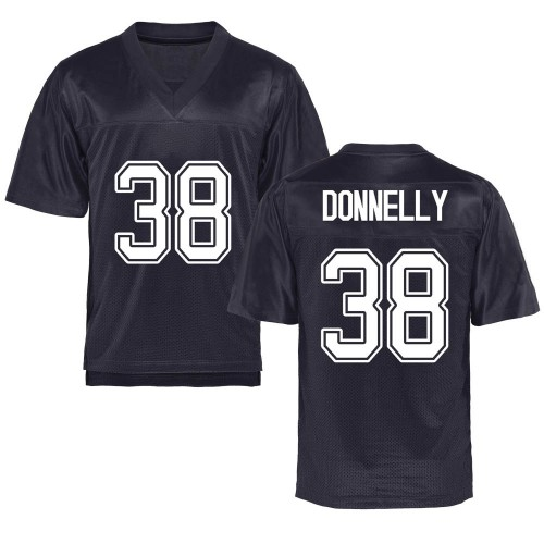 Men's Ronan Donnelly California Golden Bears Game Gold Navy Football College Jersey