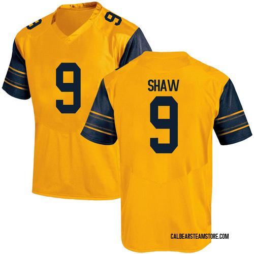 Men's Under Armour Bradrick Shaw California Golden Bears Game Gold Alternate Football College Jersey