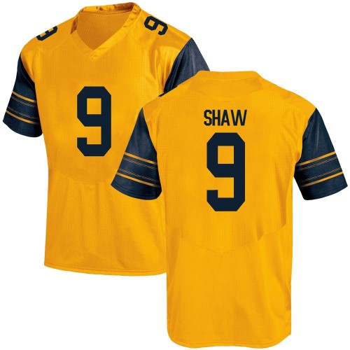 Men's Under Armour Bradrick Shaw California Golden Bears Replica Gold Alternate Football College Jersey