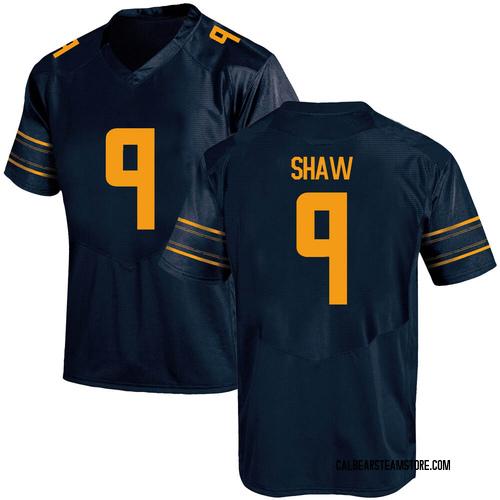 Men's Under Armour Bradrick Shaw California Golden Bears Replica Gold Navy Football College Jersey
