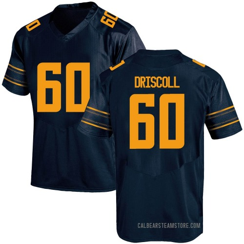 Men's Under Armour Brian Driscoll California Golden Bears Game Gold Navy Football College Jersey