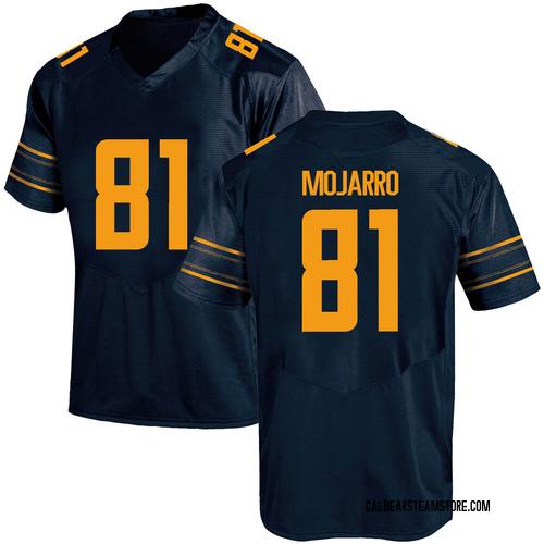Men's Under Armour Elijah Mojarro California Golden Bears Game Gold Navy Football College Jersey