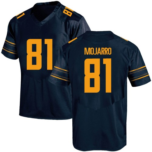 Men's Under Armour Elijah Mojarro California Golden Bears Replica Gold Navy Football College Jersey