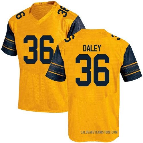 Men's Under Armour Grant Daley California Golden Bears Game Gold Alternate Football College Jersey