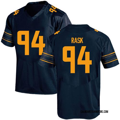 Men's Under Armour Gunnar Rask California Golden Bears Game Gold Navy Football College Jersey