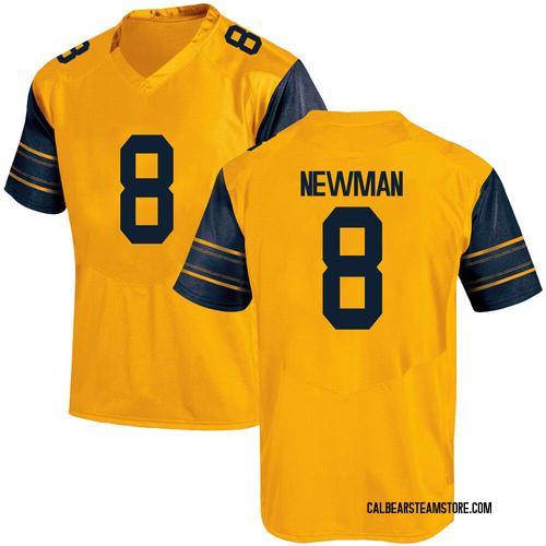 Men's Under Armour Jack Newman California Golden Bears Replica Gold Alternate Football College Jersey
