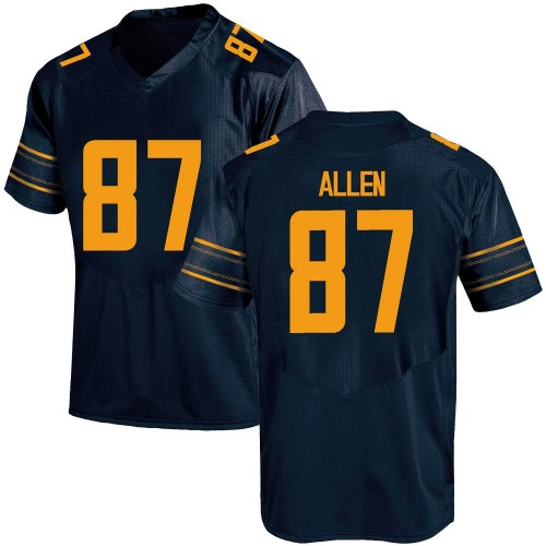 Men's Under Armour Lucas Allen California Golden Bears Replica Gold Navy Football College Jersey