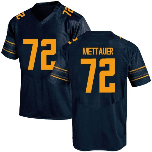 Men's Under Armour McKade Mettauer California Golden Bears Replica Gold Custom Navy Football College Jersey