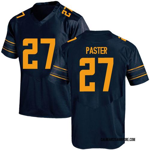 Men's Under Armour Trey Paster California Golden Bears Replica Gold Navy Football College Jersey