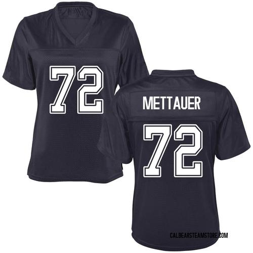 Women's McKade Mettauer California Golden Bears Game Gold Navy Football College Jersey