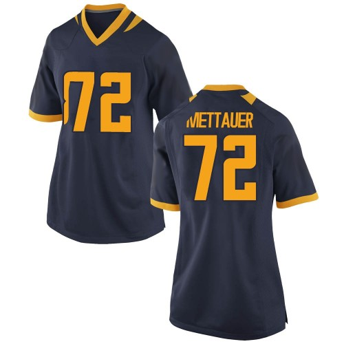 Women's Nike McKade Mettauer California Golden Bears Replica Gold Navy Football College Jersey