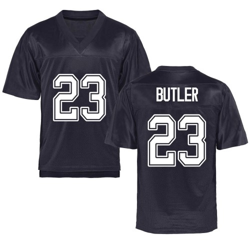 Youth Dejuan Butler California Golden Bears Game Gold Navy Football College Jersey