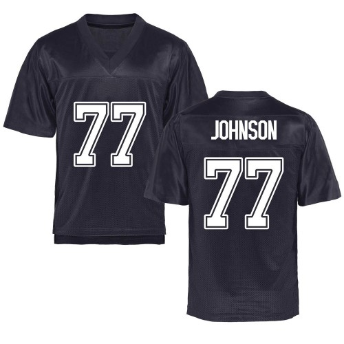 Youth Everett Johnson California Golden Bears Game Gold Navy Football College Jersey