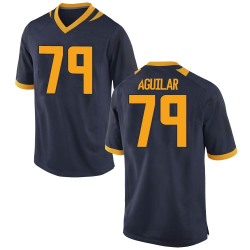 Youth Nike Ender Aguilar California Golden Bears Replica Gold Navy Football College Jersey