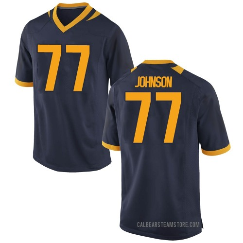 Youth Nike Everett Johnson California Golden Bears Game Gold Navy Football College Jersey