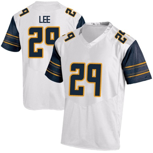 Youth Under Armour Aidan Lee California Golden Bears Game Gold White Football College Jersey