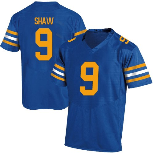 Youth Under Armour Bradrick Shaw California Golden Bears Game Gold Royal Football College Jersey