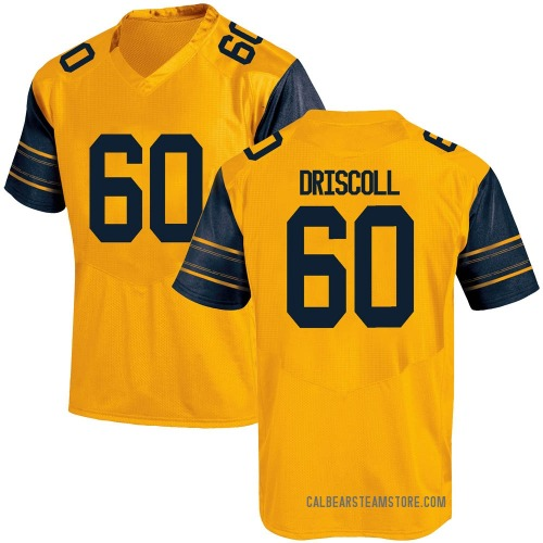 Youth Under Armour Brian Driscoll California Golden Bears Replica Gold Alternate Football College Jersey