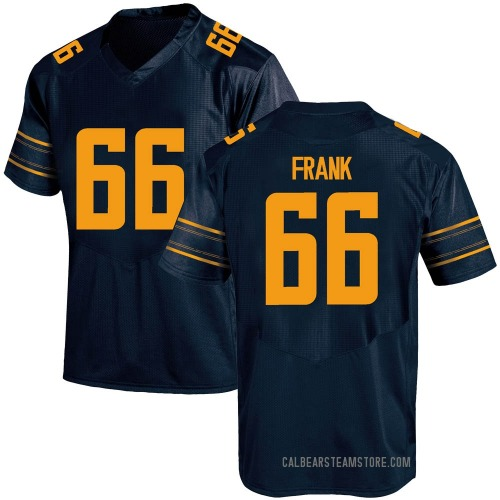 Youth Under Armour Cal Frank California Golden Bears Game Gold Navy Football College Jersey
