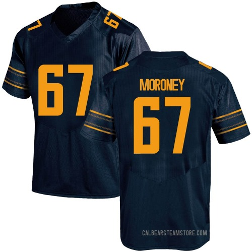 Youth Under Armour Colin Moroney California Golden Bears Game Gold Navy Football College Jersey