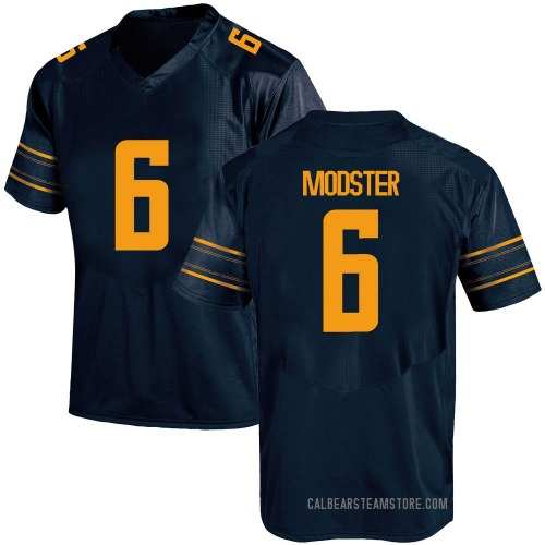 Youth Under Armour Devon Modster California Golden Bears Game Gold Navy Football College Jersey