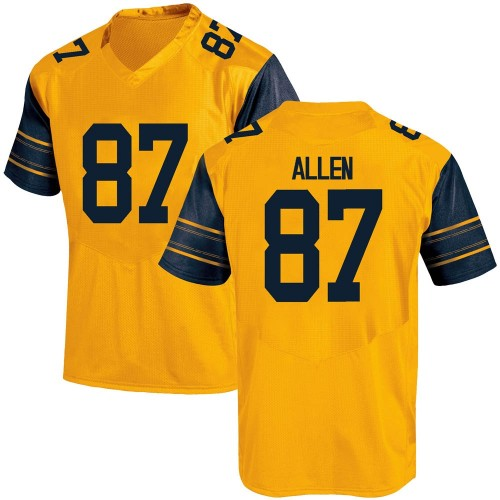 Youth Under Armour Lucas Allen California Golden Bears Replica Gold Alternate Football College Jersey