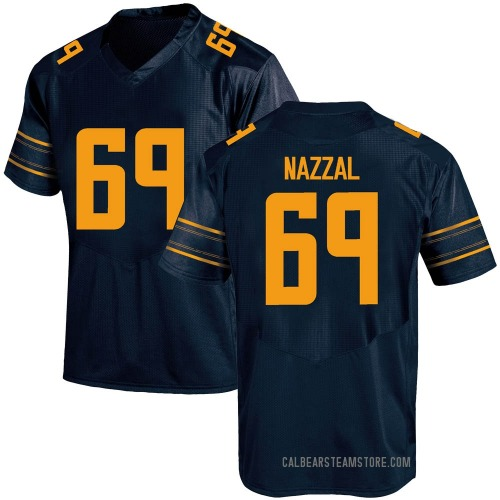 Youth Under Armour Sami Nazzal California Golden Bears Replica Gold Navy Football College Jersey
