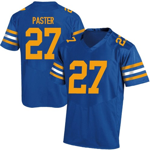 Youth Under Armour Trey Paster California Golden Bears Game Gold Royal Football College Jersey