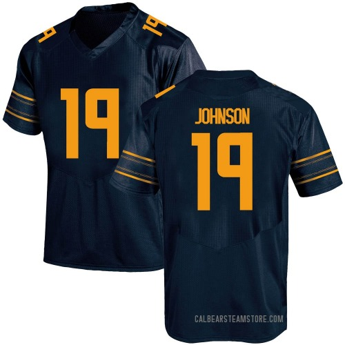 Youth Under Armour Zach Johnson California Golden Bears Game Gold Navy Football College Jersey