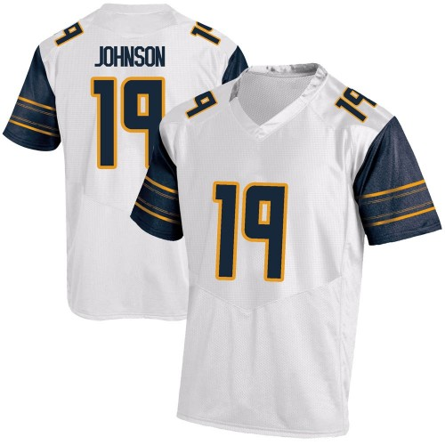 Youth Under Armour Zach Johnson California Golden Bears Game Gold White Football College Jersey